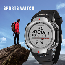 SYNOKE Men Digital Watches Waterproof Electronic LED Digital