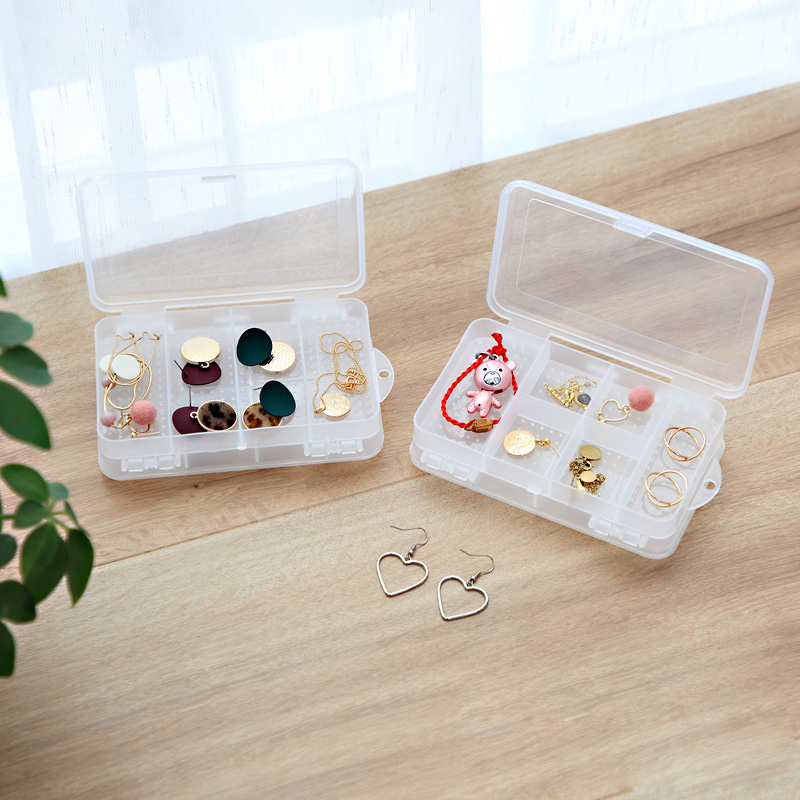 Jewerly Box Jewerly Organizer Storage Plastic Drawers Eco Friendly Orgsnizador Jewelry Drawers Plastic Oganizer
