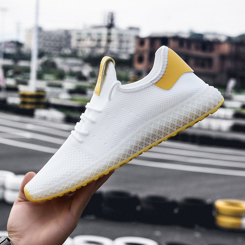 2019 Summer Breathable Hollow Men Running Shoes Running Male Gym Sport Shoes Men Sneakers For Run Size 39-46