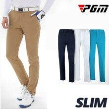PGM Upgrade Brand Plus Men's Golf Pants full length thin light breathable comfort sports leisure trousers Man navy khaki M L XL