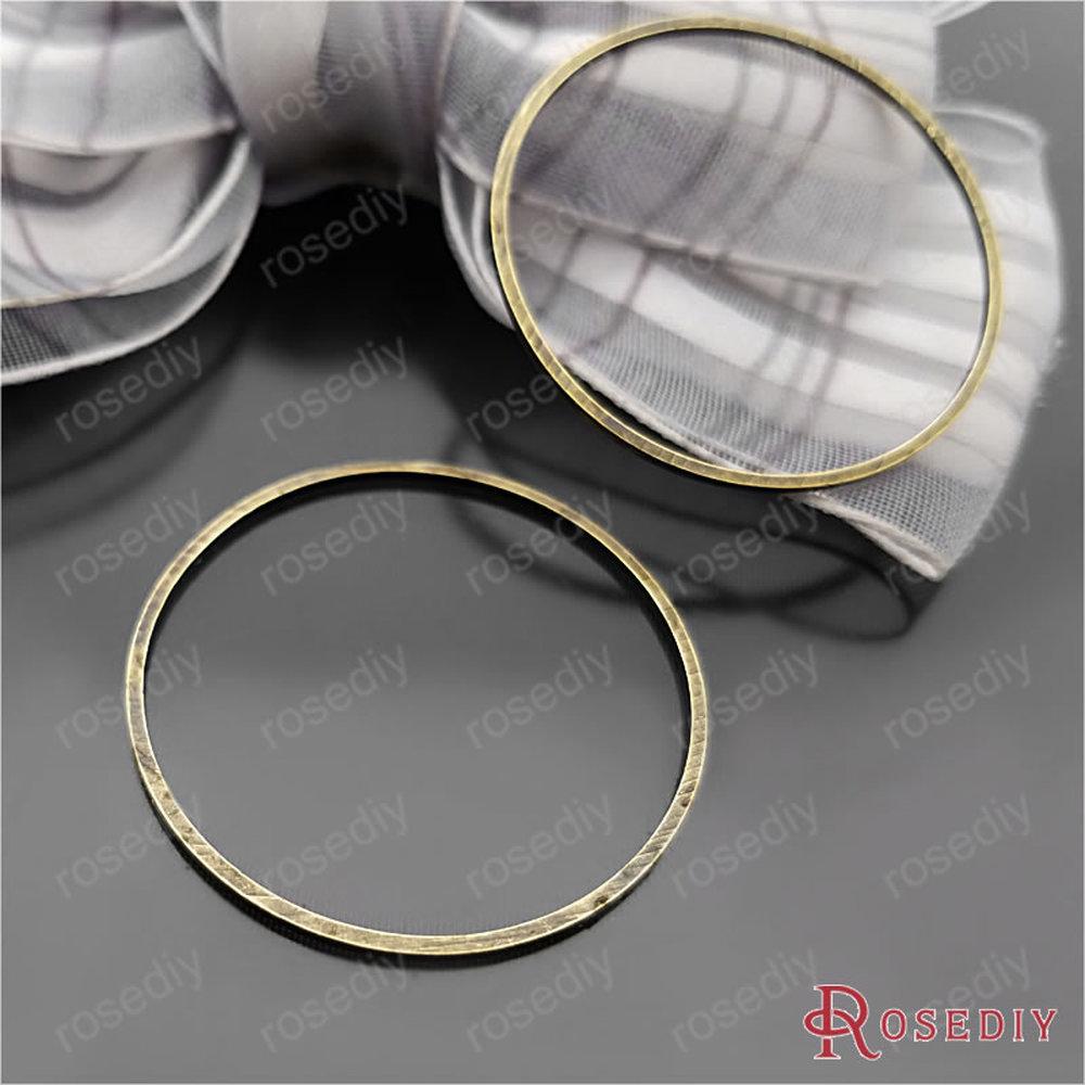 Wholesale 20PC 30MM DIY Jewelry Making Findings Silver Circle Hoop Earrings Hook