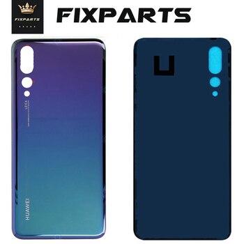 цена на Original for Huawei P20 Pro Battery Cover P20 Rear Door Mate 20 Lite Housing Back Case Phone For Huawei P20 Lite Battery Cover