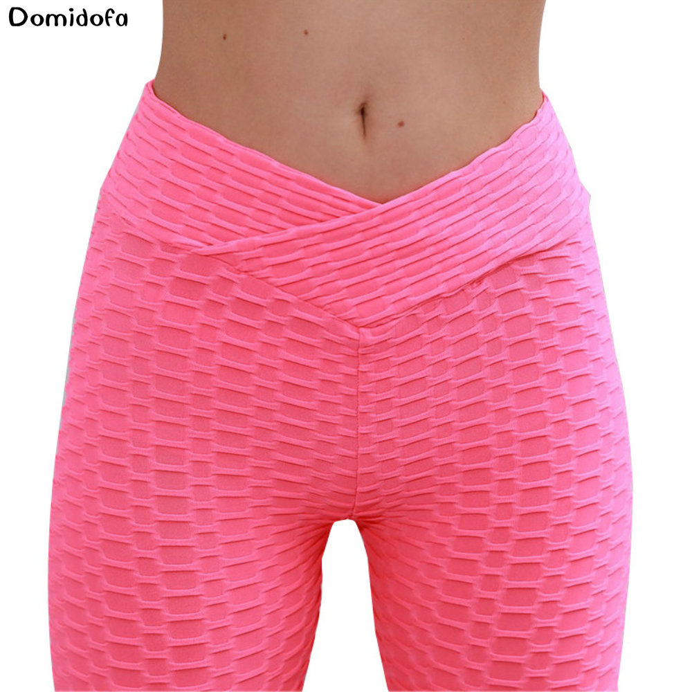 9 minutes of exercise yoga pants fitness women to lift hips slimming leggings polyester breathable small feet leggings tights in Yoga Pants from Sports Entertainment