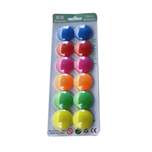 Magnet Whiteboard Notice Fridge Cork for Bord 12-Colored Thumbtacks