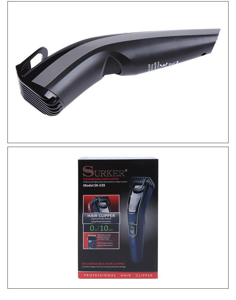 de cabelo usb carregamento ajuste fino 0-10mm