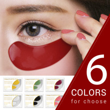 2Pcs 24K Gold Eye Mask Collagen Eye Patches Dark Circle Puffiness Eye Anti-Aging ริ้วรอย moisturizing Eye Mask TSLM1(China)