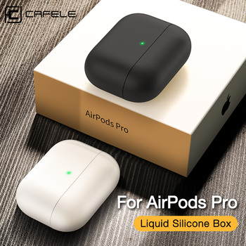Cafele Silicone Case Protective Cover for AirPods pro 3 TWS blutooth Earphone soft for Air pods pro 3 Protective Cases silicone case protective cover for apple airpods pro tpu bluetooth earphone soft silicone cover for air pods 3 protective cases