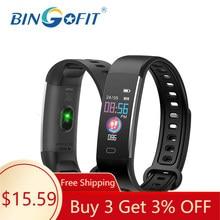 BingoFit Детские Смарт-часы с измерением кровяного давления, фитнес-трекер с цветным экраном, спортивные часы-браслет VS M5 для Fitbit