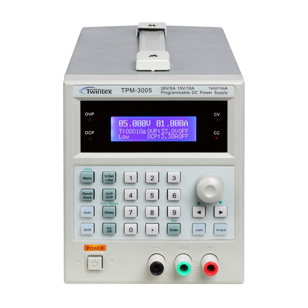 Laboratory Adjustable And Programmable Linear DC Power Supply