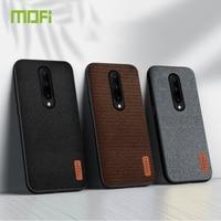 MOFi-funda para Oneplus 8 Pro, carcasa trasera dura, suave, con borde de silicona, para 1 + 7 Pro
