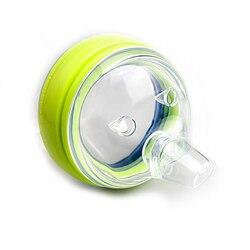 Детская силиконовая сменная соска, переменный поток, деформация, чашка для питья, силиконовая крышка для чашки (2 упаковки), соска для Comotomo