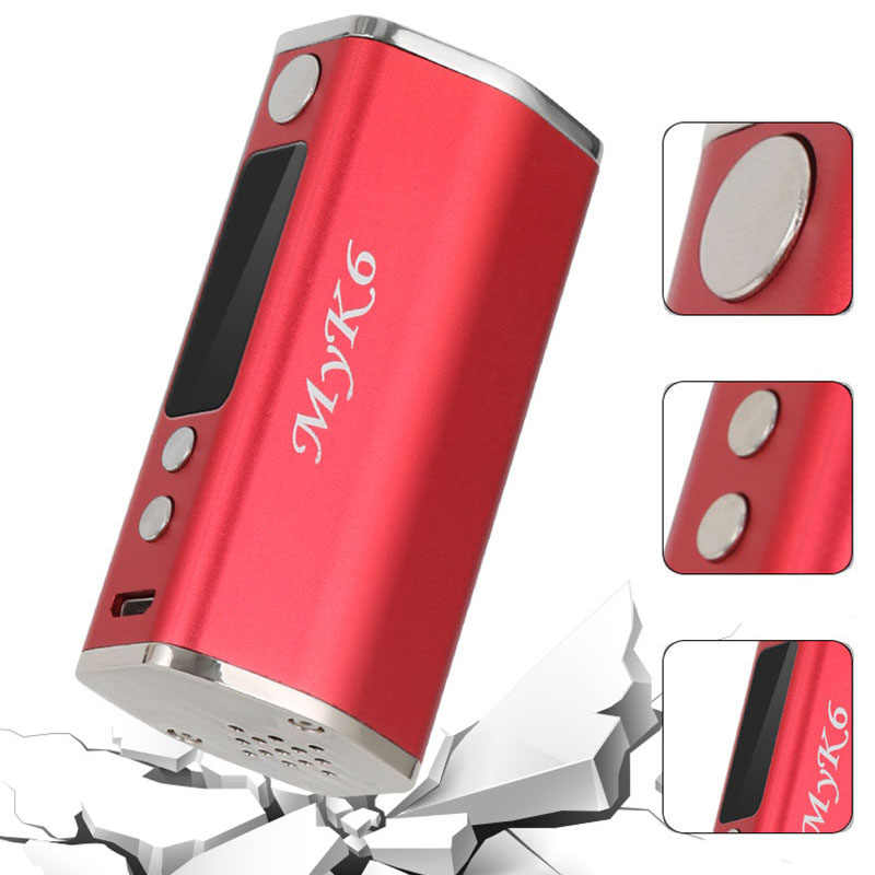 80 Вт Vape Высокая мощность регулируемый кальян мод комплект 0.2Ohm электронная сигарета распылитель 3 мл резервуар для хранения вейпер бросить курить