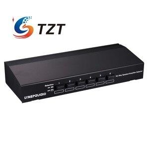 Image 4 - TZT ستة طريقة مكبر صوت ستيريو مفتاح جهاز انتقاء مكبر للصوت محدد ثنائي الاتجاه انتقائي الجلاد B898