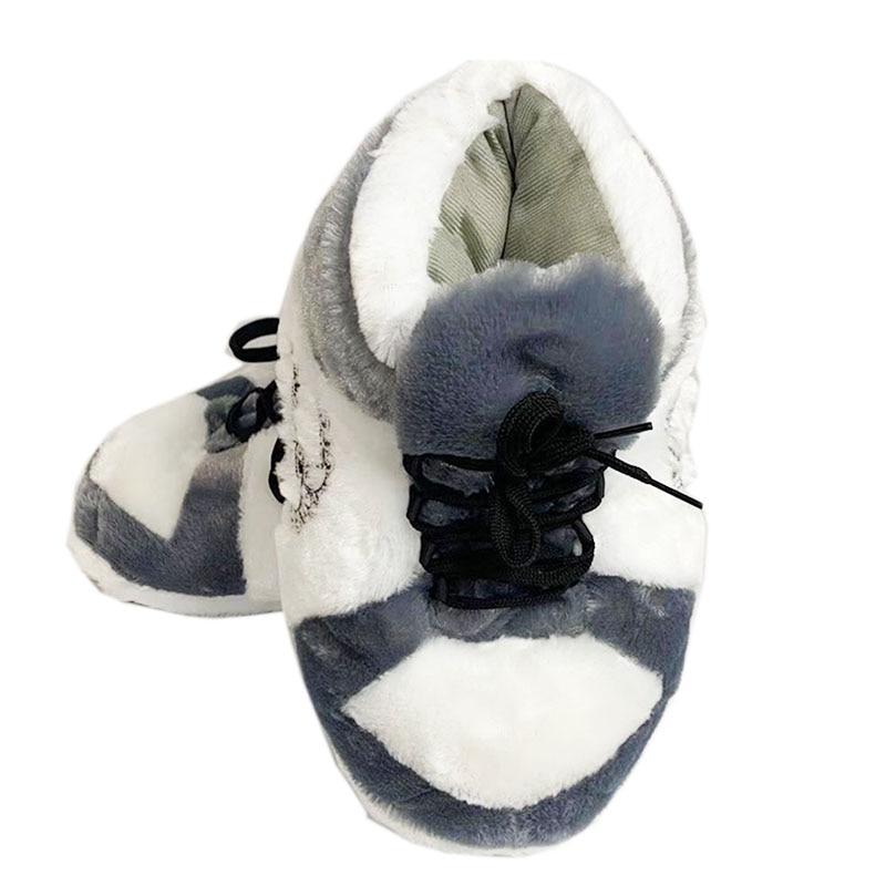 Зимние теплые домашние тапочки унисекс, женские/мужские одноразмерные кроссовки, Дамская домашняя хлопковая обувь, женские домашние тапоч...