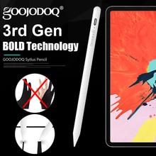 アップルipad鉛筆ヤシ拒絶アクティブスタイラスペンappleの鉛筆 2 ipad 2018 と 2019 6th 7th世代/プロ 3rd世代/ミニ 5th
