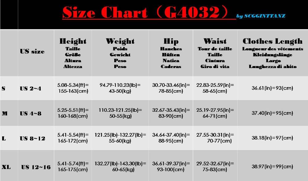 SCGGINTTANZ G4032 Latin Modern Ballroom Dance Professional Floating Yarn Stretchy Body Pants//Trousers