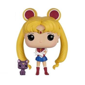 FUNKO POP SAILOR MOON 89# Chibiusa 295# Meiou Setsuna 296# Tenoh Haruka 297# Kaiou Michiru 298# Action Figure Toys for Kids Gift 2