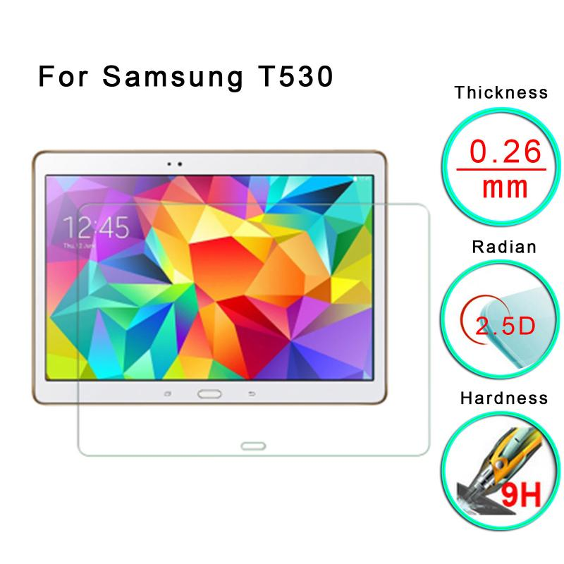 """Premium Real Tempered Glass Screen Protector For Galaxy Tab.4 10.1"""" T530/ T535 Screen Protectors Accessories Parts"""