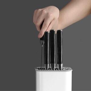 Image 3 - Xiaomi Huohou uchwyt na nóż kuchenny wielofunkcyjny stojak do przechowywania uchwyt na narzędzia nóż blok stojak akcesoria kuchenne oryginalne
