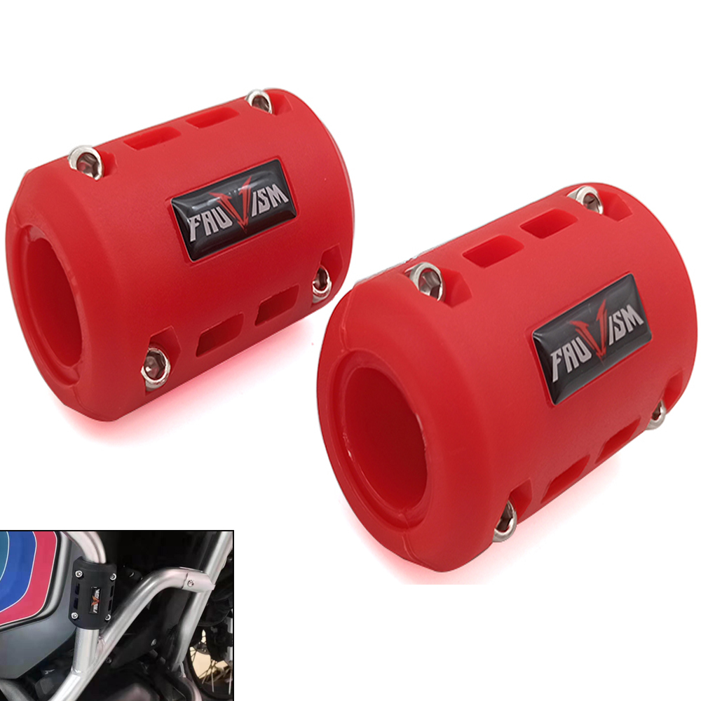 For Kawasaki ZXR400 ZZR600 ZX10R ZX12R ZX6R Motorcycle Engine Guard Bumper Protection Decorative Block 22/25/28mm Crash Bar image