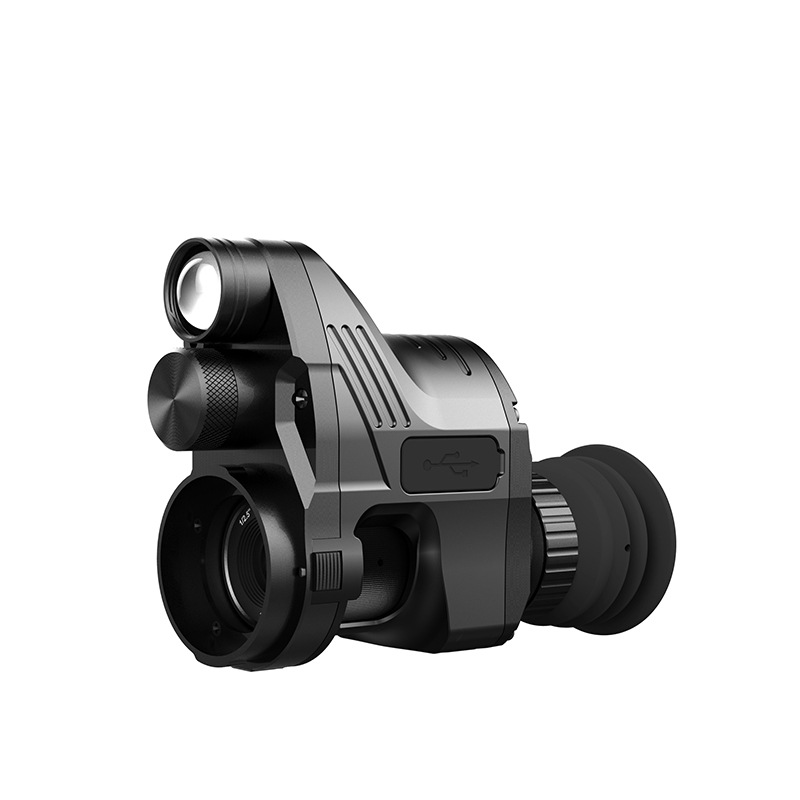 007 High Definition Digital Night Vision Install SD Card Photo Video Single Night Vision scope Hunting Patrol Infrared Telescope in Night Visions from Sports Entertainment