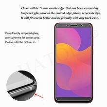 4-in-1 For Glass Huawei Y5p Y6p Tempered Glass Y6s Y8s Y9s Y8p Y7 2019 Camera Lens Screen Protector HD Film For Huawei Y5p 2020