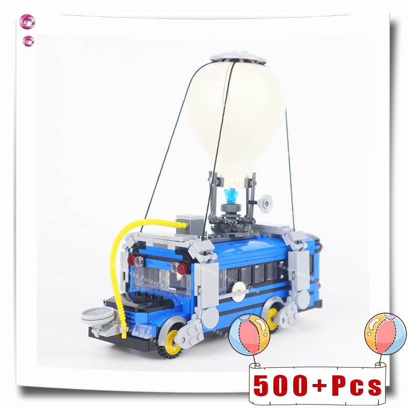 DIY  Air Bus Mini Movable Building Blocks Bricks Educational Technical Toys Gifts For Children Kids Toy Cars Trucks MOC 500+Pcs