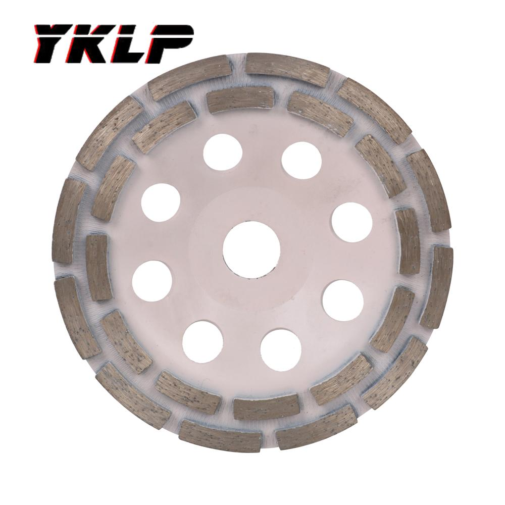 """6 Inch Diamond Sand Marble Grinding Disc Cup Wheel for Granite Stone 7//8/"""" Hole"""