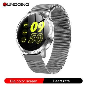 RUNDOING CF18 Men Smart Watch Waterproof IP67 Blood Pressure Tracker Fashion Men Sport Multi Sport Modes SmartWatch Women Band 1