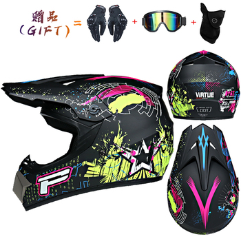Motor Bike Cross Racing Motorcycle Helmet Safety Enduro Capacete Motorrad Cascos Downhill Bicycle Engine Cafe Racer ATV Helmets 29