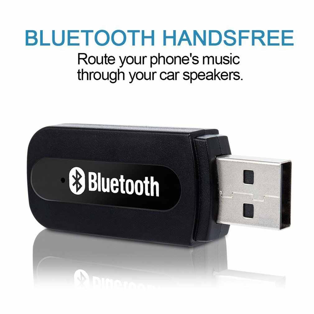 USB Nirkabel Bluetooth Musik Stereo Receiver Adapter Amp Dongle Audio Rumah Speaker Jack 3.5 Mm Bluetooth Receiver Terhubung