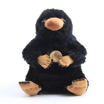 20cm Fantastic Beasts and Where to Find Them Niffler Collector's Plush Toys Peluche Black Duckbills Stuffed Animal Doll Kid Gift fantastic beasts and where to find them macusa
