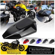 цена на Motorcycle Rear Passenger Solo Seat Cover Cowl Hump Fairing For Yamaha FZ07 MT07 MT FZ 07 Motor Accessories 2016 2015 2014 2013