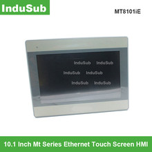Mt8101ie hmi tela de toque 10.1 polegada ethernet interface do painel toque máquina display substituir mt8100ie