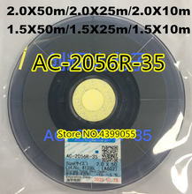 Nova data original acf AC 2056R 35 pcb reparação fita 1.5/2.0mm * 10m/25m/50m