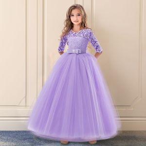 Image 1 - 新しい女の子初聖体拝領のドレスのためのドレス 6 14 歳の十代のボールウェディングパーティー子供服