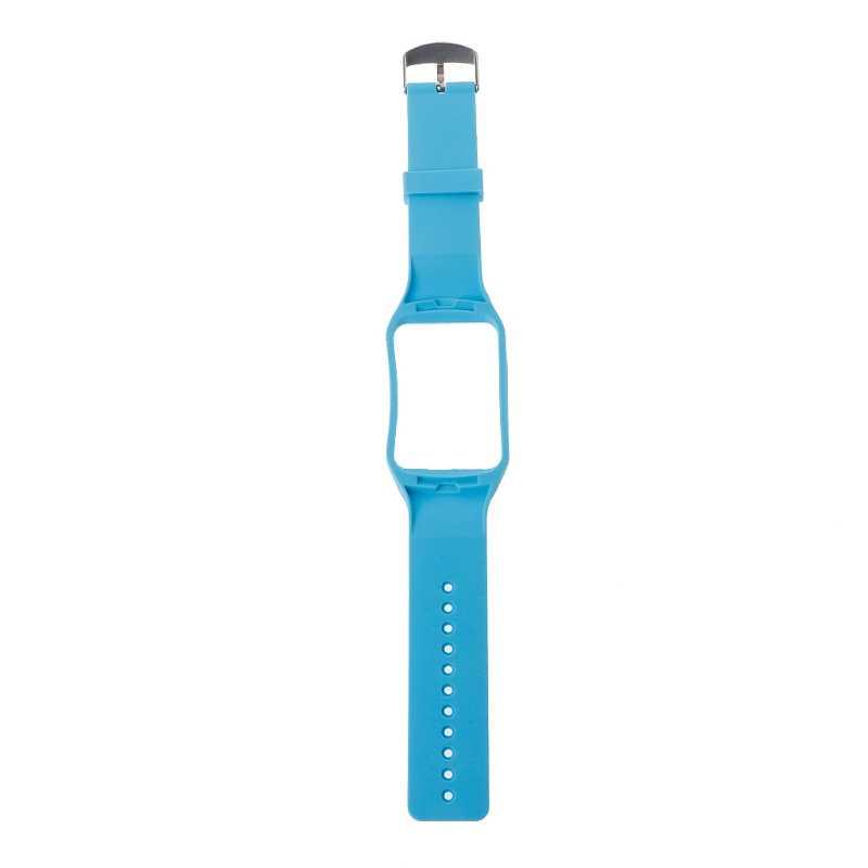 Reemplazo de correa de muñeca de silicona para reloj inteligente Samsung Galaxy Gear S SM-R750