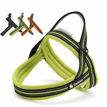 Truelove Soft Mesh Padded Nylon Dog Harness Vest No Pull Reflective Security Collar Easy Put On Pet Harnesses