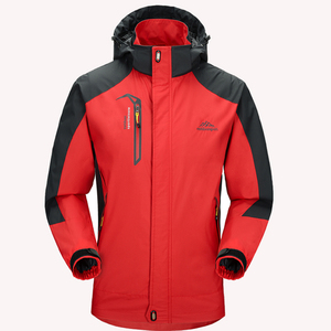 Image 4 - 5XL Jacket Men Waterproof Hooded Breathable Mens Jackets And Coats Spring Autumn Outwear Windbreaker Coat Male Army Clothing