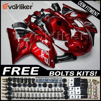 Custom motorcycle fairing for YZF600R Thunderent 1997-2007 ABS plastic motorcycle hull Injection mold red+Gifts