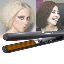 Professional Hair Crimper Corrugation Curling Iron Curler Corrugated Styler