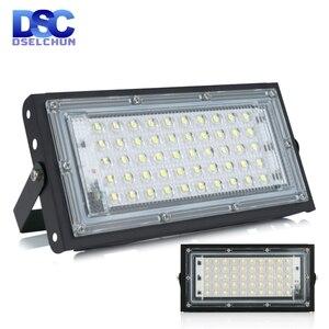 50W Led Flood Light AC 220V 230V 240V Outdoor Floodlight Spotlight IP65 Waterproof LED Street Lamp Landscape Lighting(China)