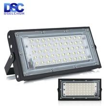 50W Led Flutlicht AC 220V 230V 240V Außen Flutlicht Spotlight IP65 Wasserdichte LED Straße Lampe landschaft Beleuchtung