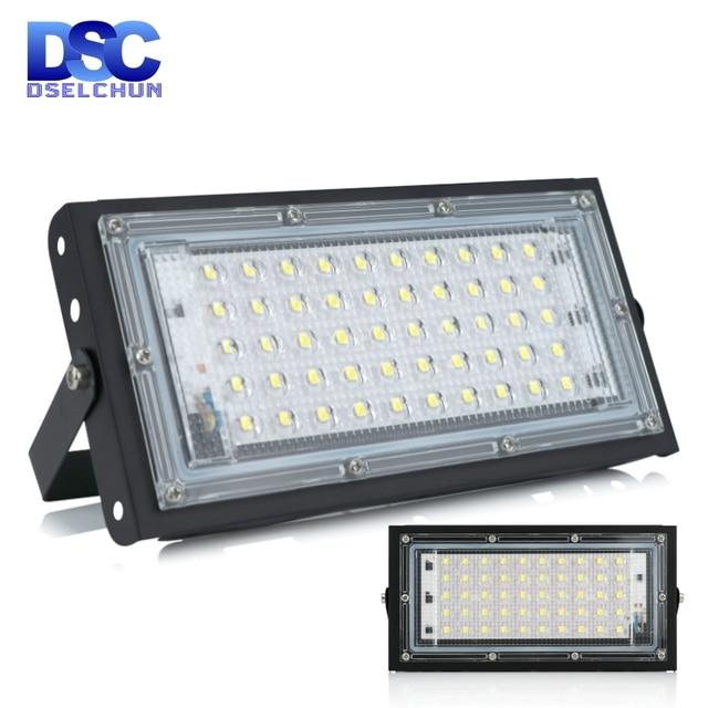 Projecteur dextérieur à large faisceau, conforme à la norme IP65 Led, lampe de paysage, 50W, 220/230/240V, AC LED étanche/LED V