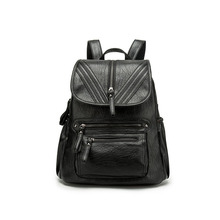 POMELOS Backpack Female Ladies Backpack Anti Theft Woman Backpack High Quality PU Back Pack Bagpack Bookbag Rucksack Women