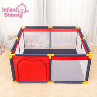Infant Shining Baby Ball Pool Playpens for Kids Baby Play Fence Children's Tent Baby Safety Barriers for 0 6 Y Children Pool