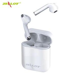 Image 4 - Zélot H20 TWS 5.0 Bluetooth casque écouteurs Mini sans fil écouteurs intra auriculaires avec boîte de charge