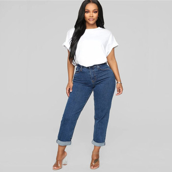 1X Women's jeans with fashionable trousers on the street in Africa good quality jeans wholesale wholesale jeans custom недорого
