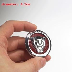 Image 5 - 1pc Car Gear Shift Knob Interior Emblem Decals for Jaguar Logo F PACE XE XF XJ XEL XFL Car Styling Sticker Auto Accessories