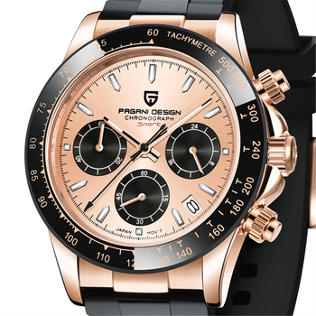 2020 New Mens Watches PAGANI DESIGN Top Brand Luxury Quartz Sports Watch For Waterproof Men Automatic  Chronograph  Reloj Hombre